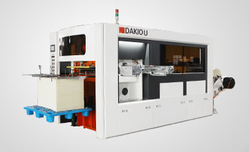 Dakiou roll die cutting machine