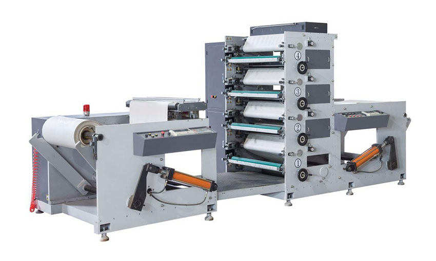 HSR-950 Flexo Printing machine (four color)