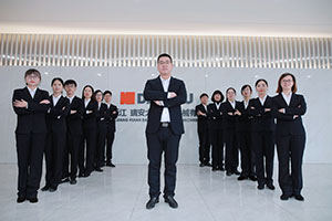 MANAGER MR JACK ZHAO LEADS MAIN WORKERS TO OVERSEA