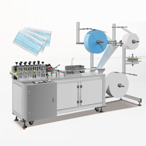 3 ply surgical face mask machine